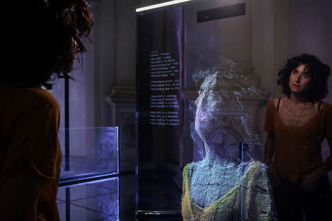 Reflection-Based AI Installations