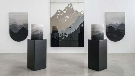 Textured Mountain-Inspired Furniture