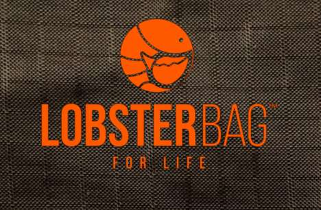 Compact Key Fob Gadgets - Lobsterbag is a Hard-Wearing and Stylish Reusable Bag