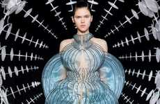 Stunningly Hypnotic Couture