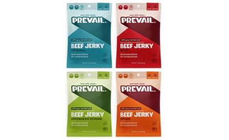 Exotically Flavored Jerky Snacks