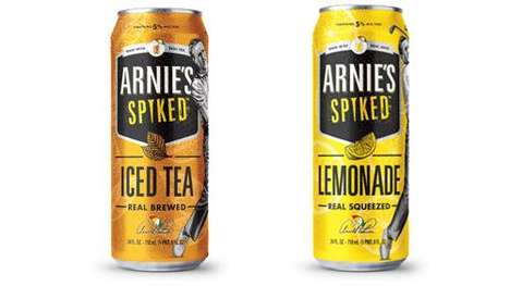 Spiked Millennial-Targeted Refreshments