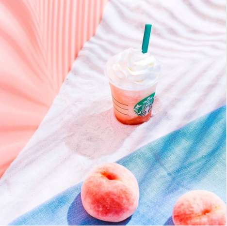 Peach-Flavored Blended Beverages