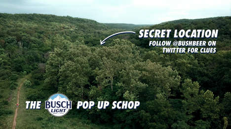 Forested Beer Pop-Ups