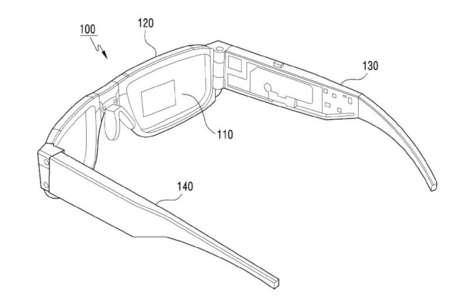 Foldable AR Glasses