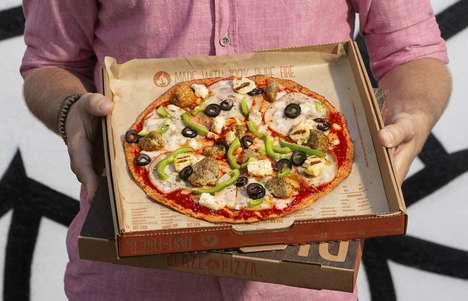 Thin-Crust Keto Pizzas