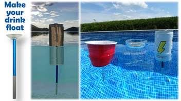 Floating Pool Cup Holders