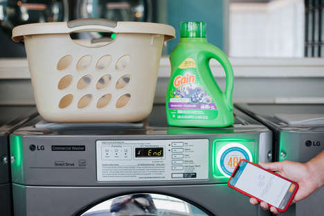 Phone-Connected Laundry Machines