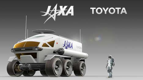 Moon Rover Development Partnerships