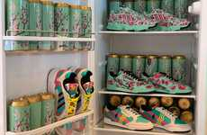 Affordable Ice Tea-Inspired Sneakers