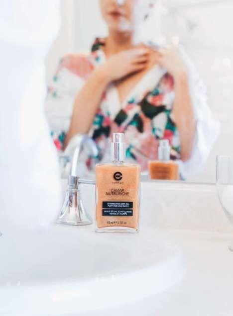 Premium Shimmering Dry Oils
