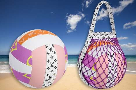 Ultra-Luxurious Branded Volleyballs