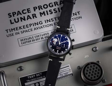 Cartoon Space Exploration Timepieces