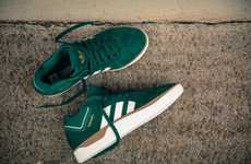 Slick Emerald Green Sneakers