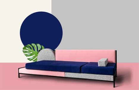 Retro Modular Sofas