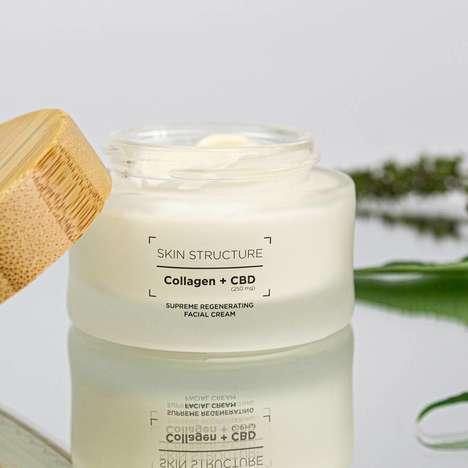 Collagen-Infused CBD Face Creams