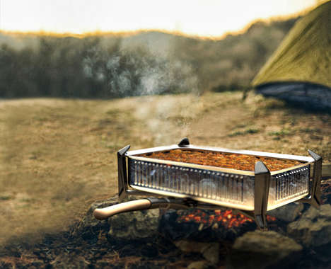 Folding Multipurpose Outdoor Cookers