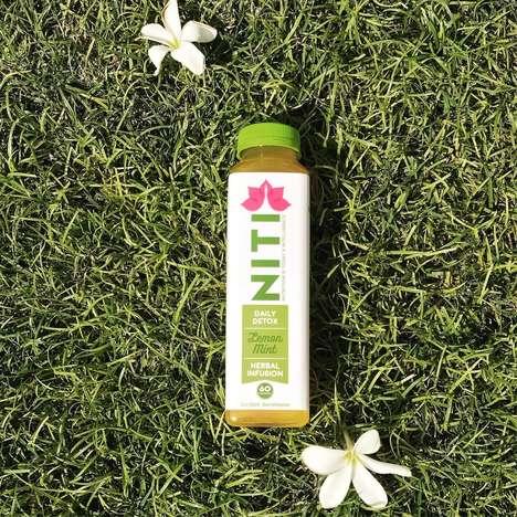 Liver-Detoxifying Herbal Drinks