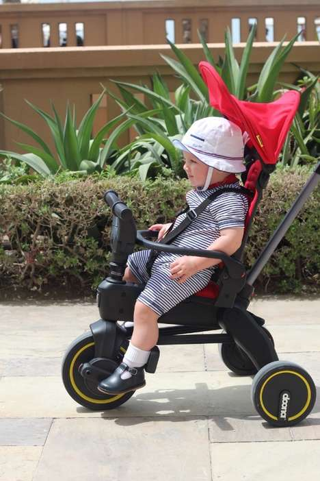 Travel-Friendly Compact Tricycles