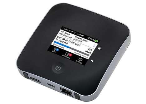 LTE-Enabled Mobile Hotspots