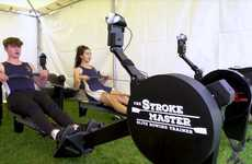 Connected Rowing Workout Machines