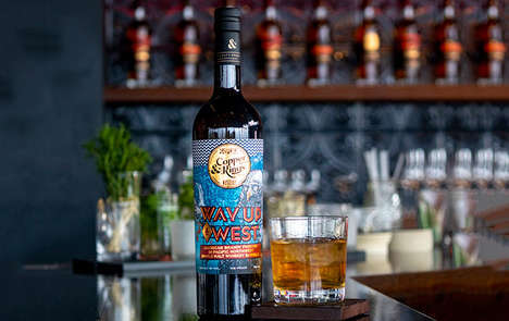 Expertly Crafted American Brandies - The Copper & Kings Way Up West American Brandy is Robust