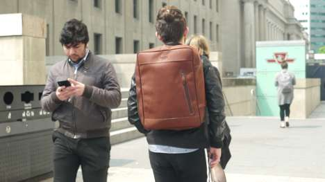 Hyper-Organized Stylish Travel Backpacks - The Highlander Enjoys a High Level of Sophistication