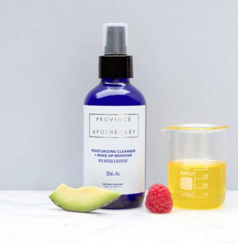 Soothing Organic Oil Cleansers - Province Apothecary Boasts a Make-up Remover & Oil Cleanser in One