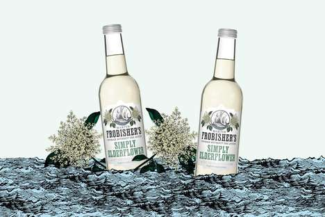 Alcohol-Free Elderflower Refreshers