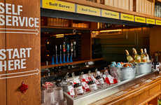 Self-Serve Cocktail Bars