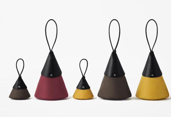 Origami-Inspired Foldable Bags - Longchamp and nendo Joined to Create a Line of Unique Leather Bags