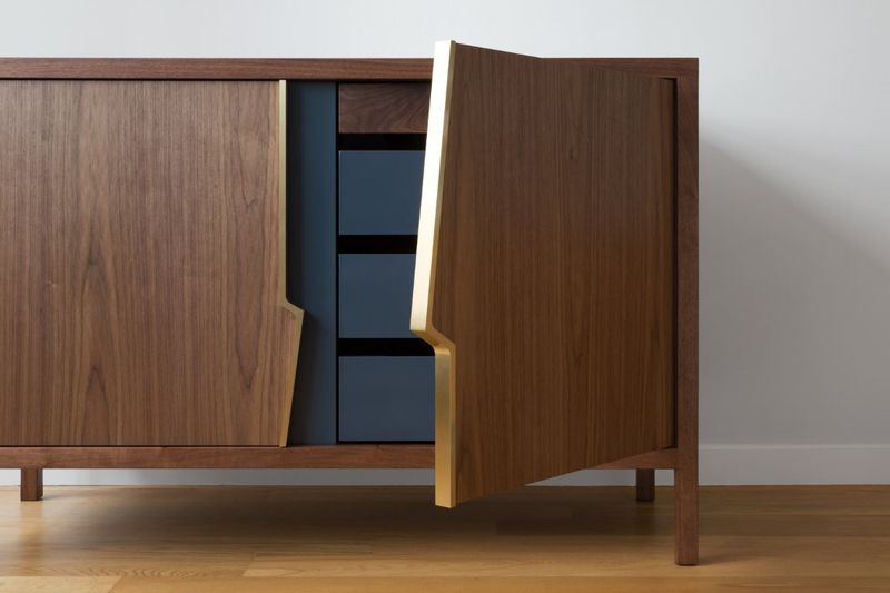 Intentionally Fractured Cabinet Furniture