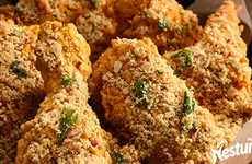 Cereal-Covered Fried Chicken
