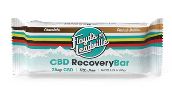 CBD-Powered Workout Snacks - The Floyd's of Leadville CBD Recovery Bar is THC-Free