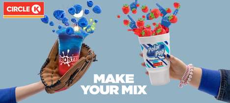 Beverage Customization Promotions - The Circle K #MakeYourMix Campaign Encourages Refreshment