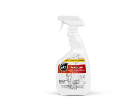 Bleach-Free Foodservice Cleaning Products - The Sani Professional All-in-One Spray is Effective
