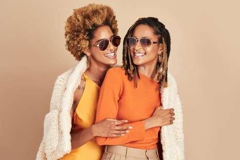 Chic 70s-Inspired Sunglasses
