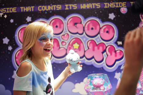 Goo-Filled Collectible Toys
