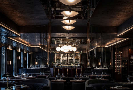 Highly Elegant Restaurant Interiors