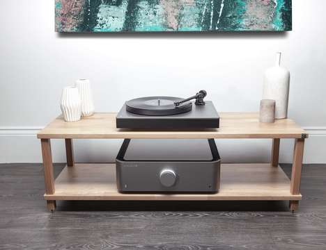 Wire-Free Vinyl Audio Systems - The Cambridge Audio Alva TT Keeps a Minimalist Aesthetic