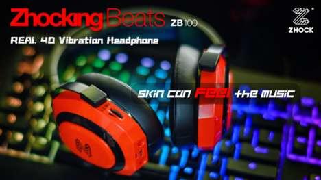 4D Vibration Headphones