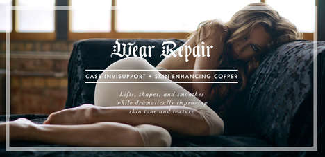 Skin-Enhancing Clothing Ranges - Cass Luxury Shapewear Boasts Support and Skin-Improving Copper