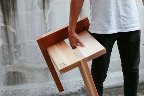 15 Japanese Furniture Designs - From Minimalist Easy-to-Assemble Furniture to Belt-Fastened Sofas