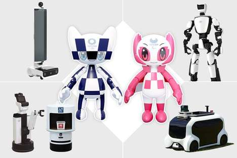 Olympics-Supporting Robots - The Toyota Tokyo 2020 Robot Project Includes an Array of Solutions