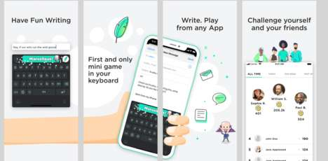 Gamified Keyboard Apps