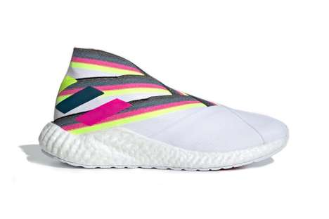 Sock-Like Vibrant Sneakers