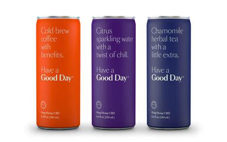 CBD-Enriched Clean Beverages