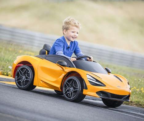 Child-Focused Luxury Electric Vehicles