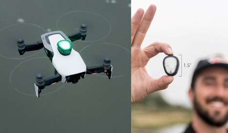 Drone Visibility Light Devices