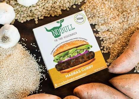 Savory Plant-Powered Burgers